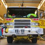 ハワイの黄色い消防車