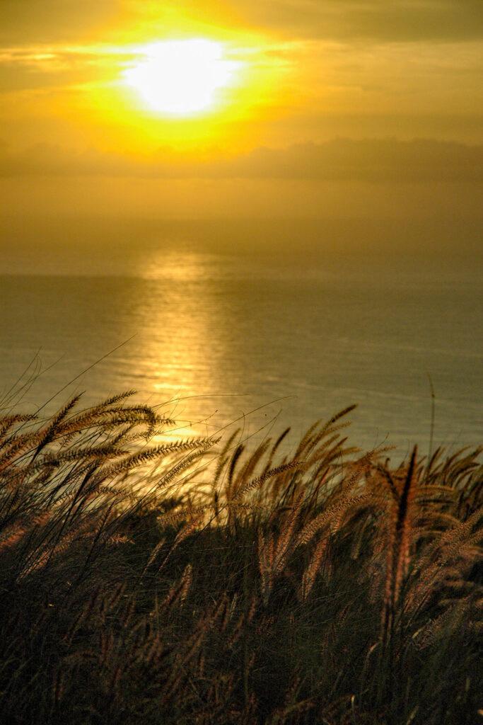 山頂からの日の出