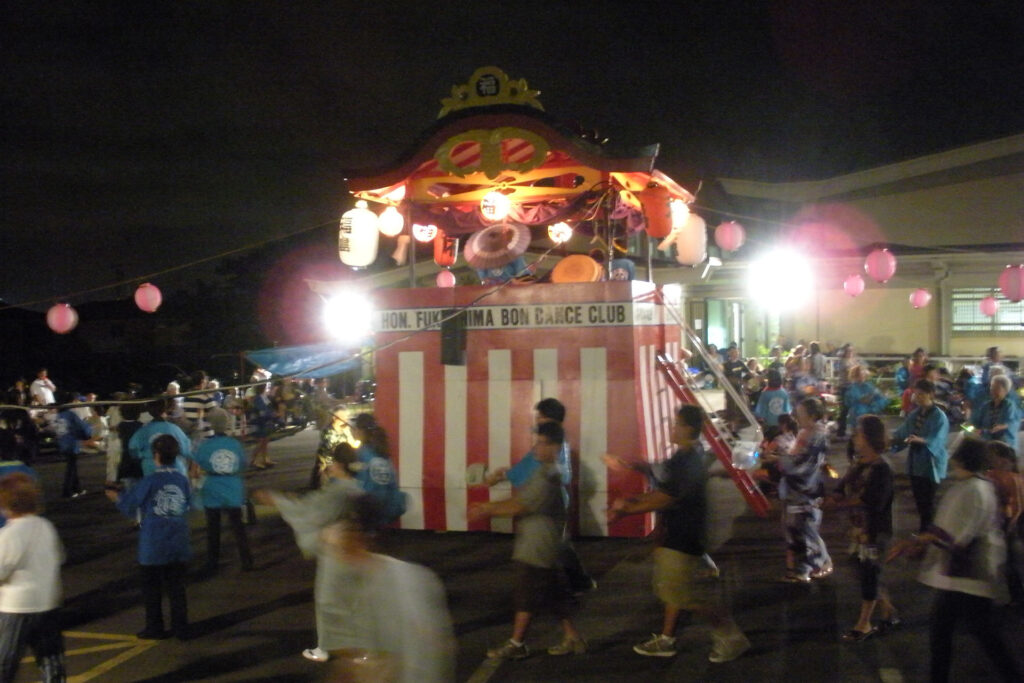 リリハの東本願寺の盆踊り
