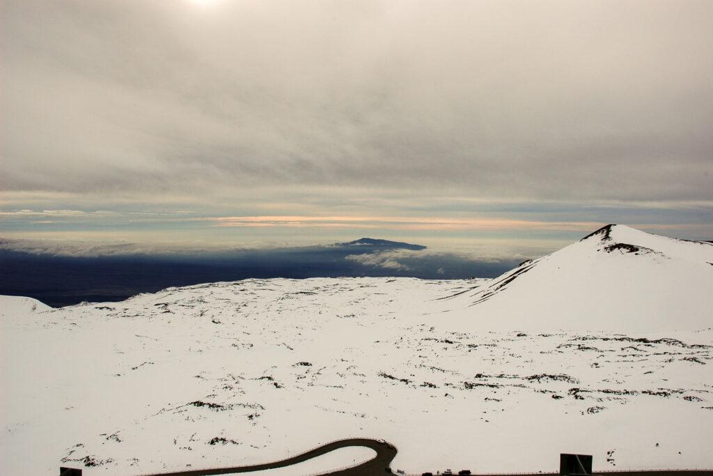 マウナケア山頂付近