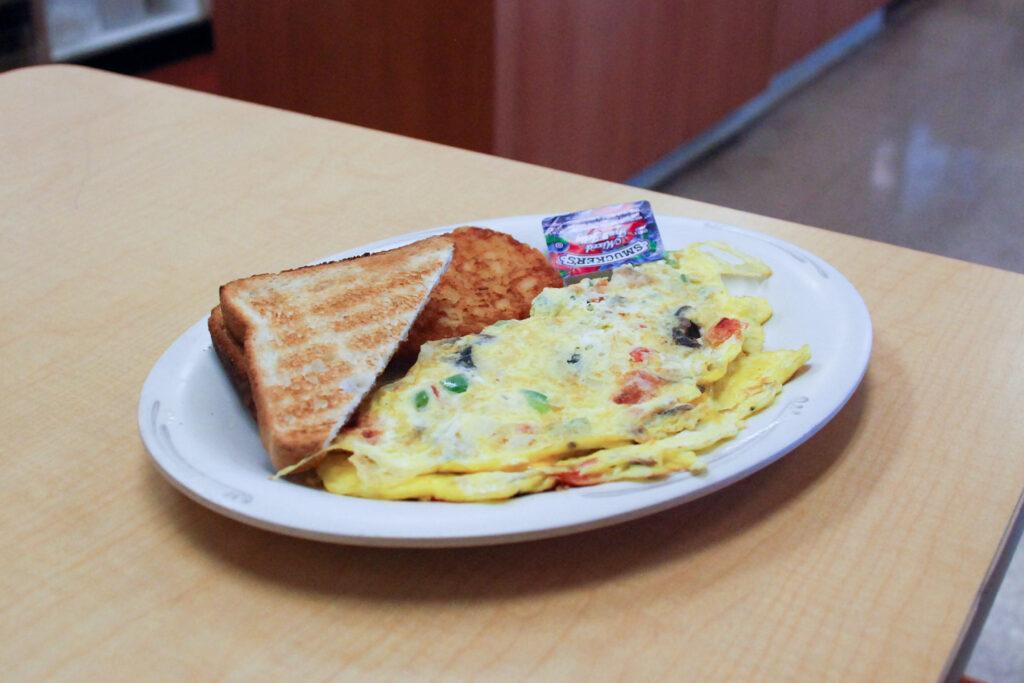 トースト朝食セット